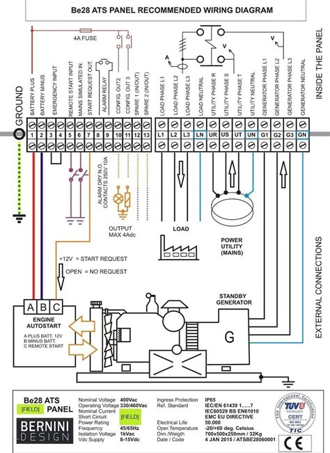 3 Wire Schematic Wiring Diagram by Collection Of Cutler Hammer Automatic Transfer Switch
