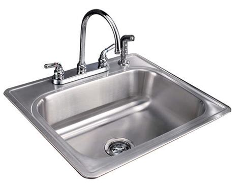 menards stainless steel sink tuscany 8 quot single bowl stainless steel kitchen sink kit at