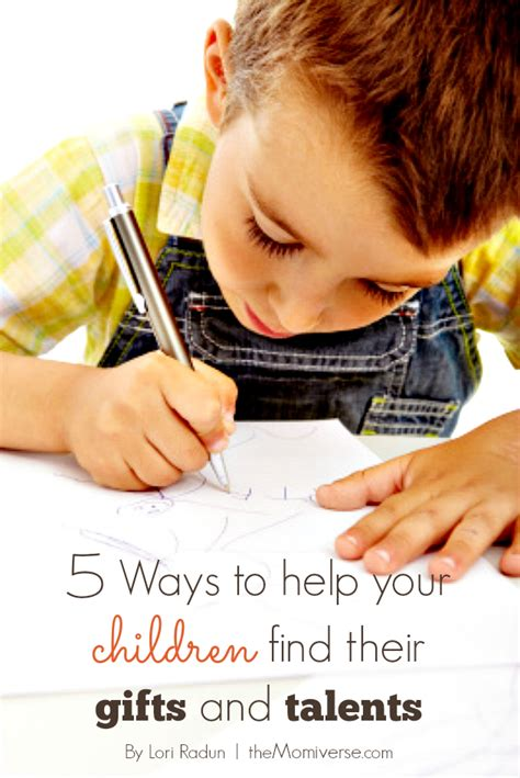 picture of recalled 5 ways to help your children find their gifts and talents