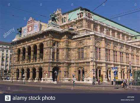 Vienna Austria Opera House Exterior Stock Photo 15960451