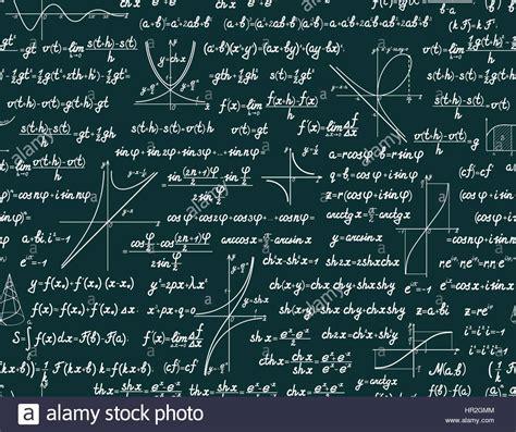 vector mathematics seamless pattern   signs