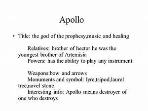 Greek Mythology Zeus, Hades, Poseidon & Apollo - ppt download