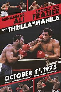 Muhammad Ali Leinwand : muhammad ali thrilla in manilla frazier 24x36 poster boxen poster und plakate ~ Whattoseeinmadrid.com Haus und Dekorationen