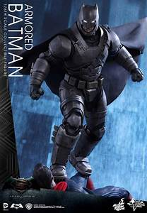 Hot Toys' 1/6th Scale Armored Batman From Batman v Superman