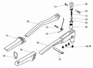 Parts List For Rivet Tool  U0026quot Rivetec U0026quot  Hr706 For Pop Rivet