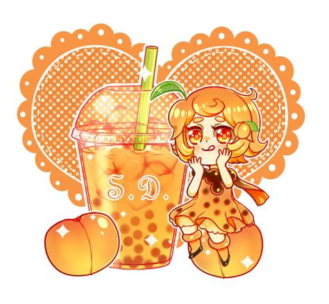 Boba tea's origin story is as squishy as those gumdrops swimming in it, but the most widely accepted version of the tale centers on lin hsiu hui, a product development manager for a teahouse in. Peach Bubble Tea by ScarletDestiney on DeviantArt