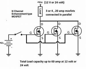 Improved Mosfet Switching Circuit For Powering Hydrogen