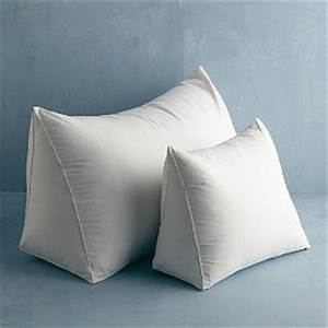 Down free fill reading wedge pillow medium the company for Company store down pillows
