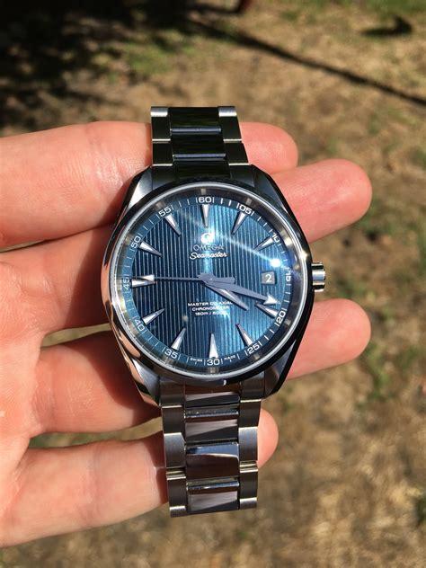Fs Mint Omega Aqua Terra 8500 Mc 415 Blue