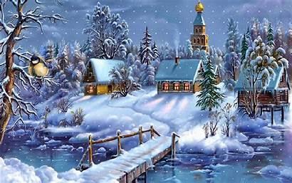 Winter Desktop Wallpapers Screensavers Christmas Background Backgrounds
