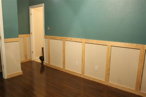 Building Wainscoting Panels by Wainscoting Installation Stage 1