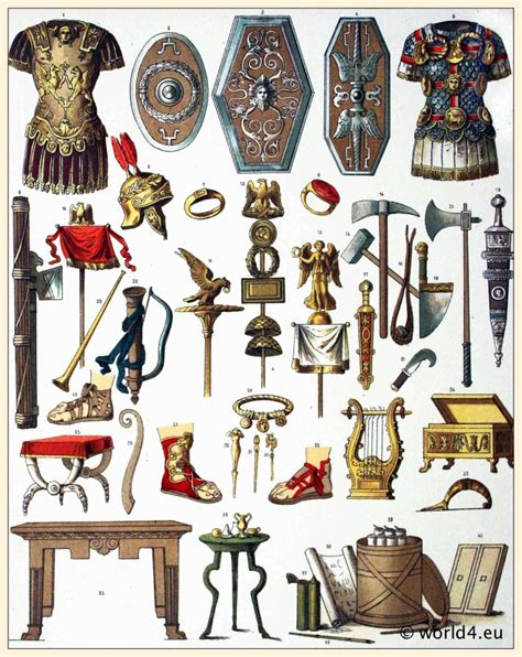 roman weapons  armour  arthur  alex