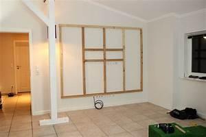 Wand Selber Bauen : 6 diy tv wand naturstein mit led beleuchtung selber bauen heimwerker ~ Orissabook.com Haus und Dekorationen