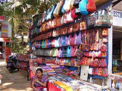 Various Flea Markets And Shopping Areas In Goa