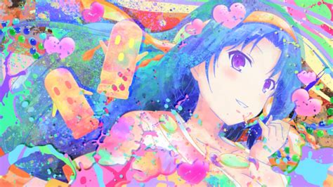 Colorful Anime Wallpaper - invaders of rokujouma anime anime colorful