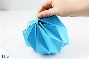 Ikea Lampenschirm Papier Ersatz : lampe basteln aus papier papier highlight origami lampen zum selbermachen brigitte ~ Markanthonyermac.com Haus und Dekorationen