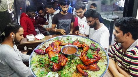 People Eating Arabian Style Chicken Biryani In Grand Mandi