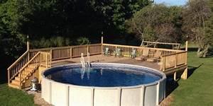 Pool Dach Rund : the importance of above ground pool decks ~ Watch28wear.com Haus und Dekorationen