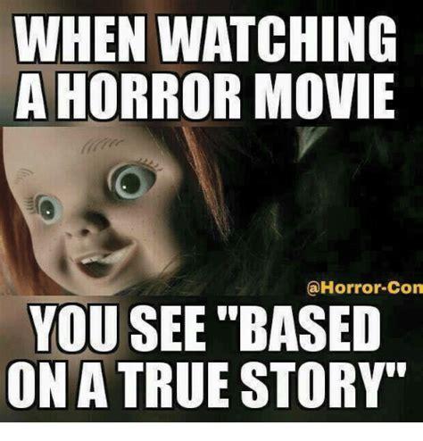 Horror Memes - 20 creepy horror movie memes sayingimages com