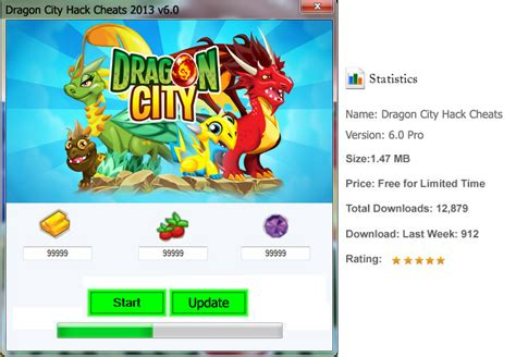 Dragon City Hack Tool Without Survey: Dragon City Hack