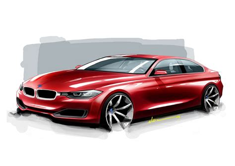 New F30 3 Series Coupe Official Sketches Teamspeedcom