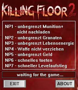 Killing floor 2 trainer 7 early access b1001 dr for Killing floor trainer
