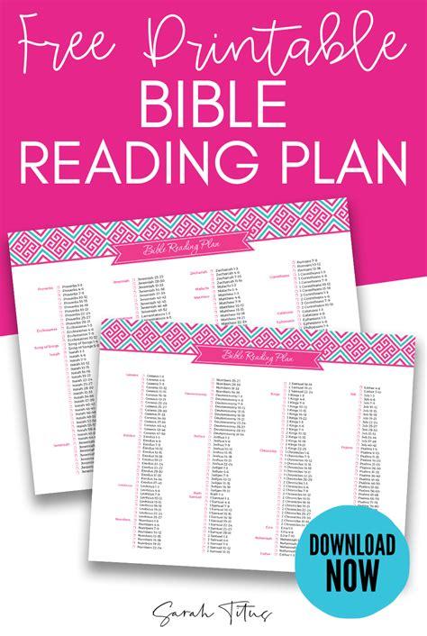 household binder bible reading plan sarah titus