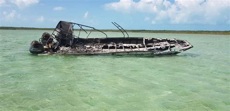 Bahamas Boat Charter by Tourist Charter Boat Explodes Exuma Bahamas Bahamas