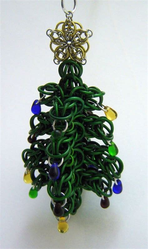 17 best images about chainmaille ornaments on pinterest