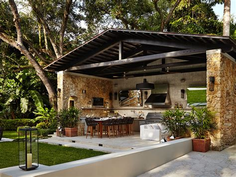 outdoor kitchen designing  perfect backyard cooking