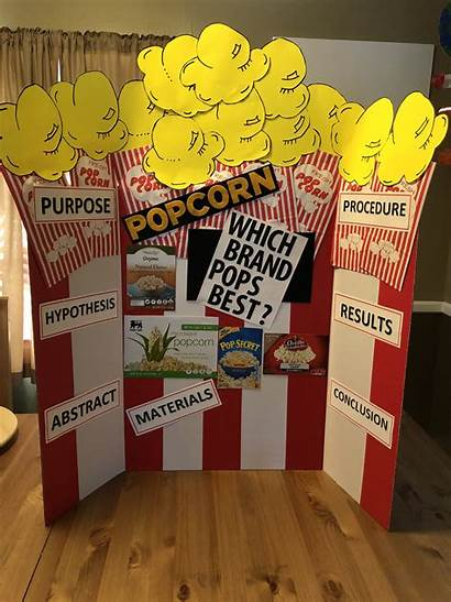 Science Fair Popcorn Grade Projects 2nd Project