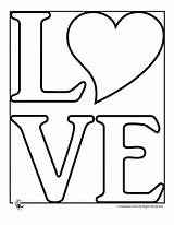 Coloring Pages Heart sketch template