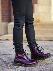 Purple Doc Martens
