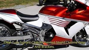 2010 Kawasaki Ninga Zx 14 With A 300 Chrome Wide Fat Tire