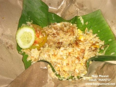 wisata kuliner indonesia kuliner  nasi mawut mbah