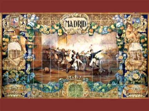 plaza de espana sevilla murales azulejos youtube