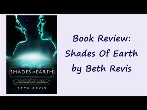 Book Review #21 Shades Of Earth By Beth Revis Youtube