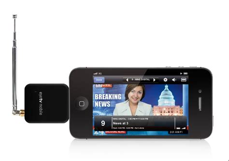 from iphone on tv elgato eyetv mobile tv tuner brings free broadcast tv to