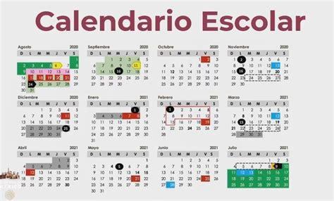 calendario oficial  el ciclo escolar