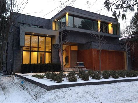 build a custom home this is a custom built modern architecture home in toronto