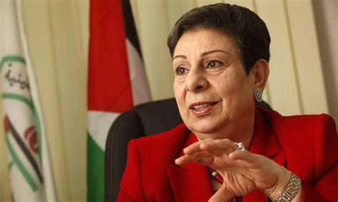 Hanan Ashrawi denied visa to US