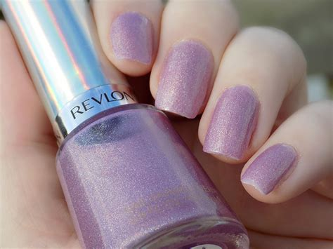 Revlon Galactic Pink Holographic Polish Swatches
