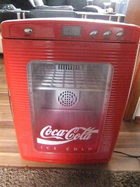 coca cola kühlschrank groß coca cola k 252 hlschrank minibar in herxheim k 252 hl und gefrierschr 228 nke kaufen und verkaufen 252 ber