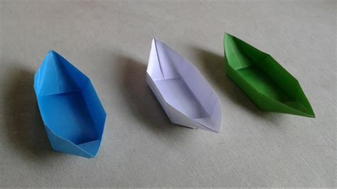 How To Make A Paper Origami Boat That Floats by How To Make A Paper Boat That Floats In Water For