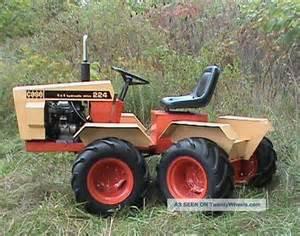 Case Articulated Garden Tractor