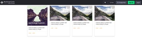 bootstrap card examples  guarantee   user