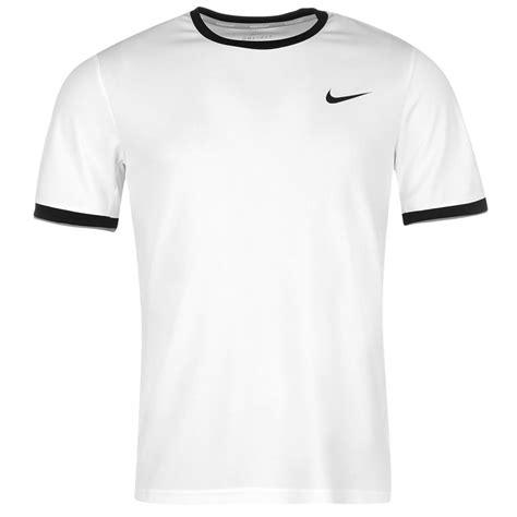 Mens Nike Dry Crew T Shirt White/Black, T-Shirts | Nielsen Animal