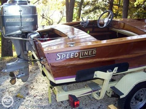 Pontoon Boats For Sale Quincy Il by 1946 Used Speedliner Trophy M114 Antique And Classic Boat