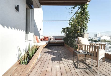 Roof Terrace : Duplex Penthouse With Roof Terrace Gets A Graphical Redesign