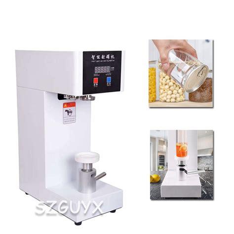 automatic milk tea shop beverage sealing machine  sealing machine aluminum beer  sealing